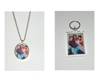 The Outsiders Glass Pendant Necklace and or Keychain