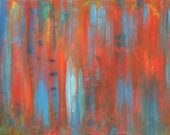 Abstract Study #21 16x20 original painting