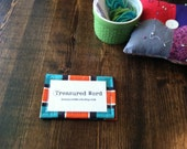 Wallet for Scripture Memory Cards - Geo