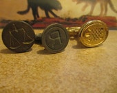 3 Vintage Wax Seals