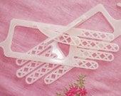 Vintage Glove Dryers / Stretchers 1950s Pink Plastic