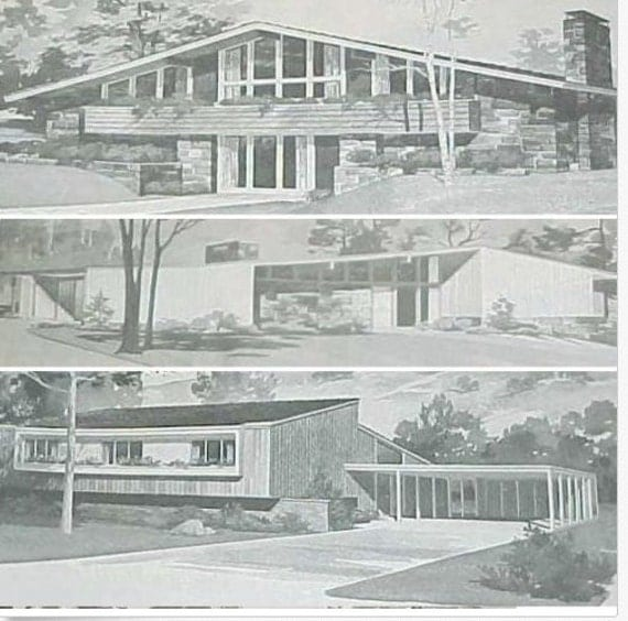 Mid Century Modern House Plans Prepossessing 185 Homes Mid Century Modern House Plans Ranch Atomic Mod