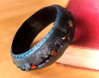OOAK Polymer Clay Gemstone Bangle