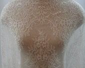 Chantilly Lace Trim, Lace Trim, Lace, Eyelash Lace Trim G38-514