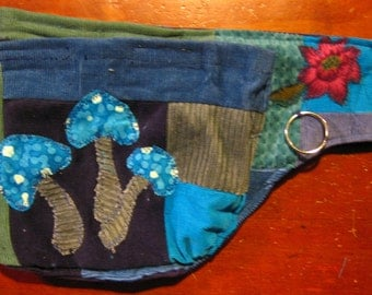 Patchwork Corduroy Hippie Tool Belt-Made to order