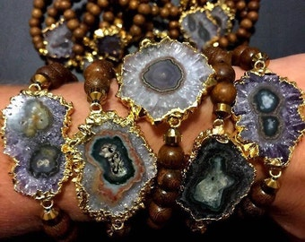 Stalactite bracelet