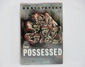 The Possessed (Also Translated As Demons) by Fyodor Dostoyevsky 1963 Vintage Modern Library Book