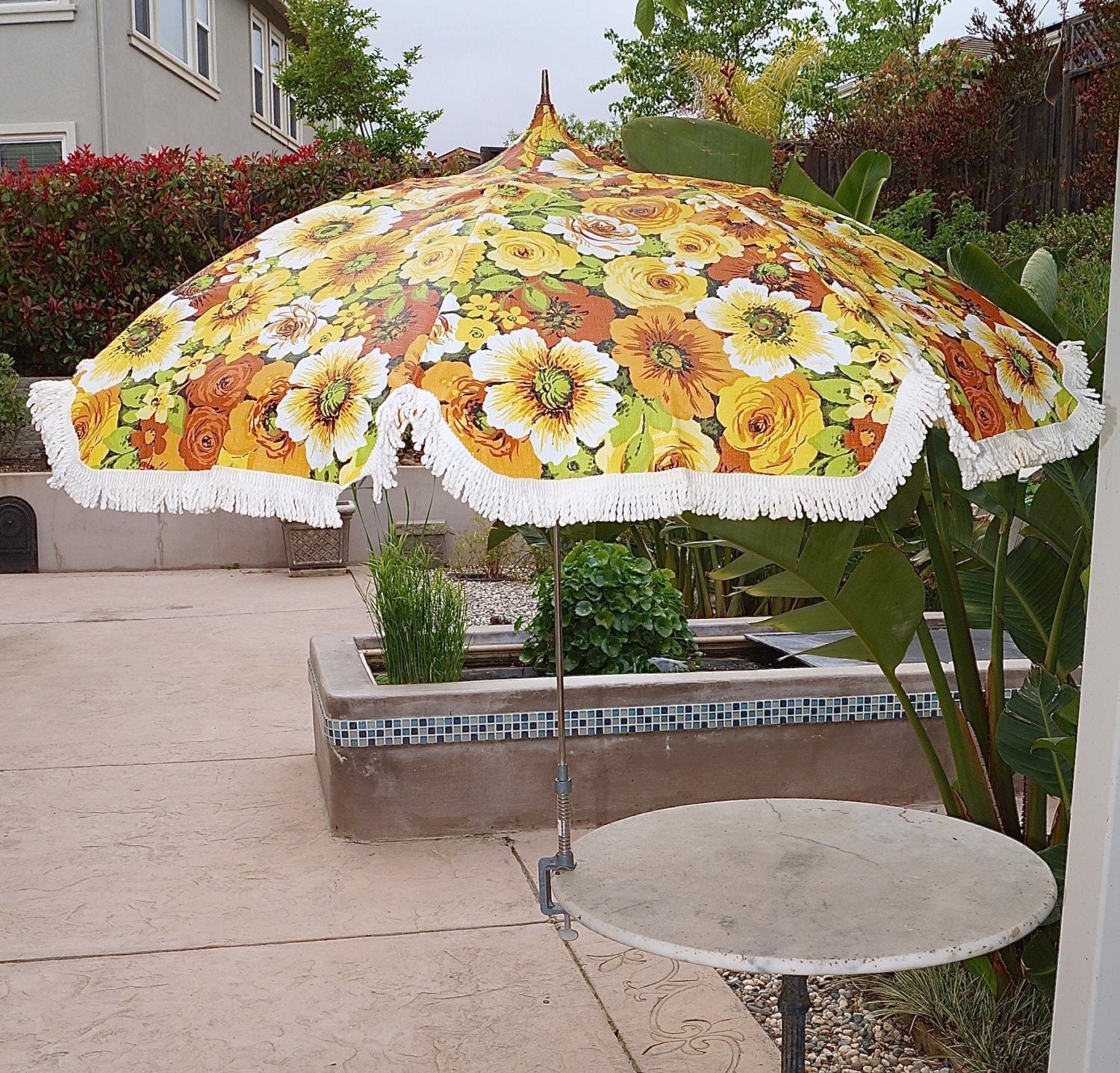 Vintage Patio Umbrella 53