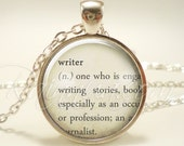 Customized Dictionary Word Necklace, Personalized Definition Pendant, Gift Ideas (1979S1IN)