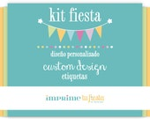 Custom Party Printable | Pick your Theme | Labels | You choose!