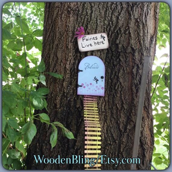 Garden Decor Fairy Garden Garden Fairy Door Tree House