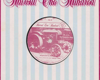 """HAIRCUT 100 Fantastic Day 1982 Uk Issue 7"""" 45 rpm Vinyl Single record pop 80s music nick heyward Clip3 *SALE 45s*"""