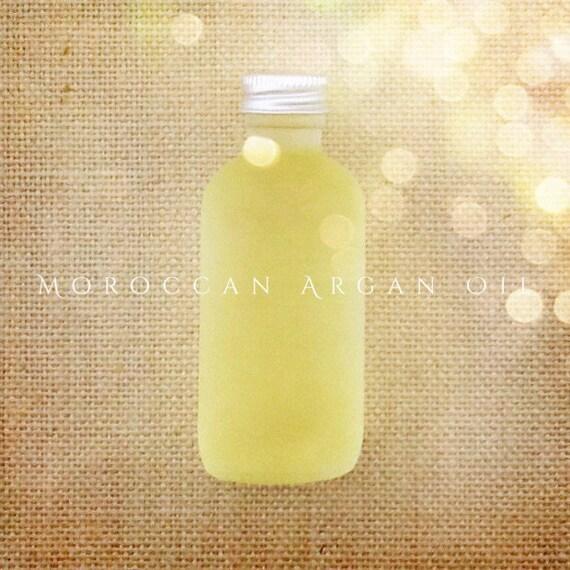 Moroccan Argan Oil Serum- Virgin Organic, 2 oz, 60 ml Anti-Aging Facial Moisturizer, Conditioning Hair Treatment, Cold Pressed