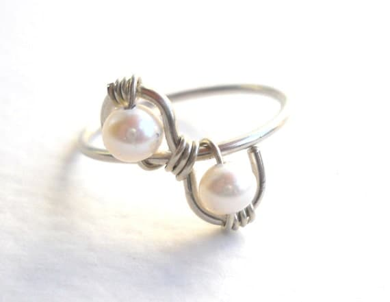 twisted ring alpaca non tarnish silver 925 by