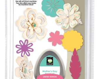 MOTHER'S DAY BOUQUET - Cricut Cartridge - FLOWERs - New and Sealed - ReTIRED and RArE !