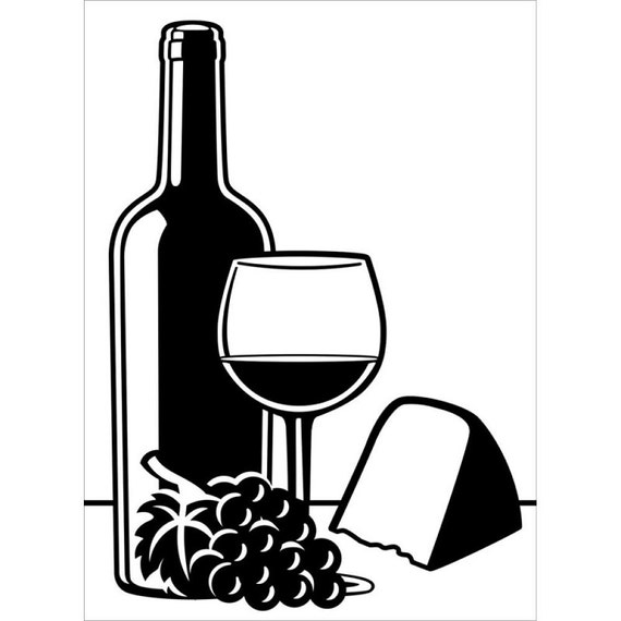 WINE and CHEESE Embossing Folder - BRand NeW !! In STOcK NoW **Darice