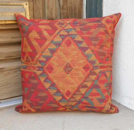 Southwestern Pillow Cover. Measures 18 X18 luxurious
