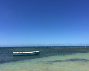 Las Terrenas Fishing Boat - Digital Download