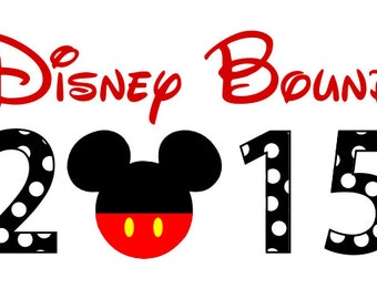 Disney Bound Custom Personalized  Iron on t-shirt Transfer Decal(iron on transfer, not digital download)