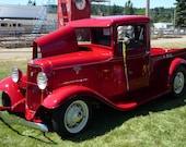 CLASSIC FORD PICKUP, classic truck decor, hot rod truck, classic truck decor, fine art photography,digital file