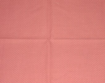 Double Fat Quarter of Dark Pink Dotted Swiss Cotton Fabric - 42 Inches x 21 Inches - Quilting, Sewing, Apparel