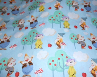 Disneys Dwarf Cotton Fabric-Two Yards-Disney for Spring Creative Products Group