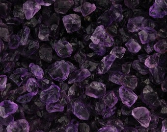 Premium Amethyst 'A' Grade Facet Rough - 125 Carats | Lapidary for Faceting, Cabbing, Wire Wrapping