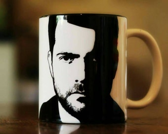 Joshua Jackson - Peter Bishop - Fringe - The Affair - Dawson's Creek - Hand Printed cup