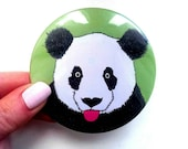 Panda Pocket mirror, panda gift, gift for her, giant panda, panda gift