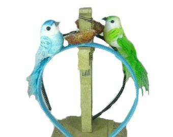 Easter Headband, Hard Headband, Girls Headband, Toddler Headband with Bird, Headband, Choose Color
