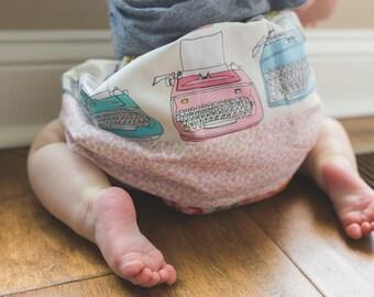 Typewriter Baby Skirt