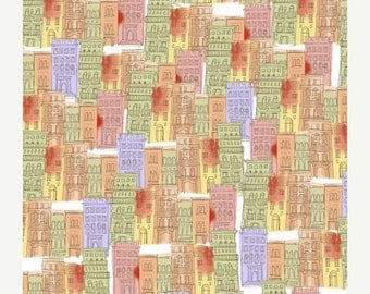 ON SALE Ciao Bella Buildings by Another Point of View for Windham Fabrics