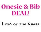 Onesie & Bib Deal - Lord of the Rings Onesie and What About Second Breakfast Bib