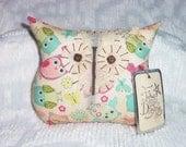Primitive/Shabby Owl Doll~Pastel Owls~Tuck/Ornie/Bowl Filler~Follow Your Dreams
