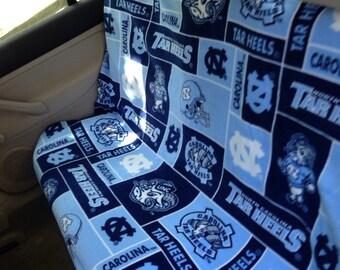 UNC Tarheel Back Seat Cover