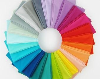 Kona Cotton Designer Palette Fat Quarter Bundle by Elizabeth Hartman - 25 FQs