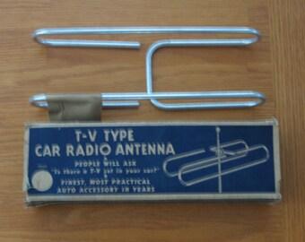 1950s TV Type Car Radio Antenna NOS