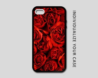 Red Rose iPhone Case, Flower iPhone Case, Red Rose Samsung Galaxy Case, iPhone 6, iPhone 5, iPhone 4, Galaxy S4, Galaxy S5, Galaxy S6 New