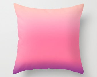 Pink Throw Pillows Modern Minimalist Sunset Decor Pillow cover Cushion covers Colorful Pillow case Accent pillow Couch pillow Decore pillow