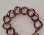 Copper 3D bracelet