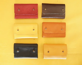 Leather Card Case,Leather Card Wallet,Leather Coin Wallet,Minimalist Pouch,Leather Pouch,Business Card Case,Personalized Card Case,