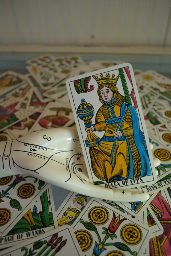 Antique Tarot Card The Fool: Antique Tarot Cards Rare Mint MULLER Vintage Tarot Cards