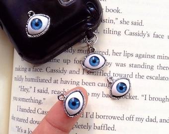 Ear Cap Evil eye ,Day of the Dead - Anti-Dust Plug Ear Cap 3.5mm for iPhone iPod.