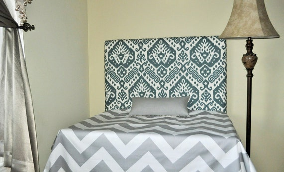 upholstered twin headboard wall mounted ready to ship. Black Bedroom Furniture Sets. Home Design Ideas