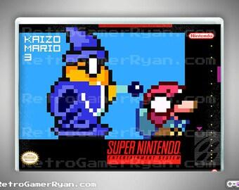 Kaizo Mario 3 (Super NES Reproduction)