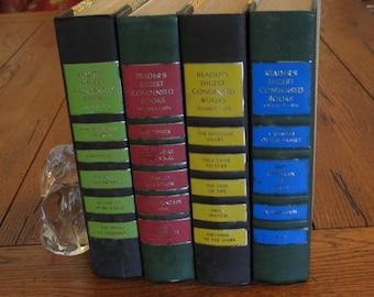 Vintage Reader's Digest Condensed Books, Lot of 4