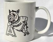 Vintage Arkansas Razorbacks Mug