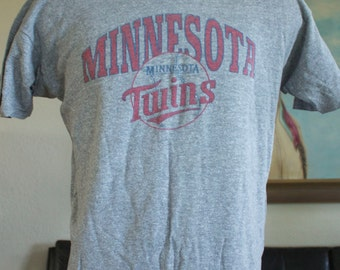Vintage Minnesota Twins Champion Brand T Shirt