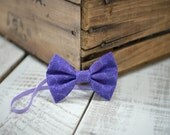 Purple Swirl Fabric Bow Headband - 6-18m Headband - Fabric Headband - Handmade Hair Accessories