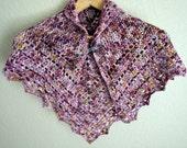 Crochet Pattern - Brambleberry Crochet Shawl Pattern - Instant Download PDF